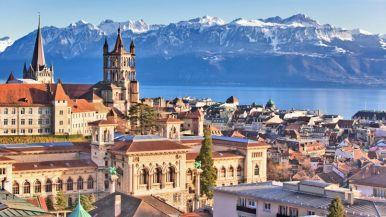A weekend in Lausanne SWITZERLAND