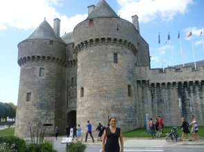 Guerande Castle Town Main Gate