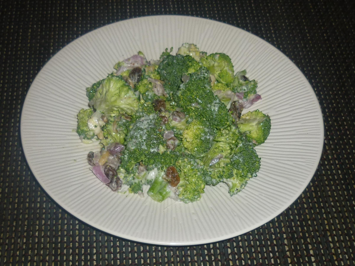 The Surprising Raw Broccoli Salad inspired by Gordon Ramsay