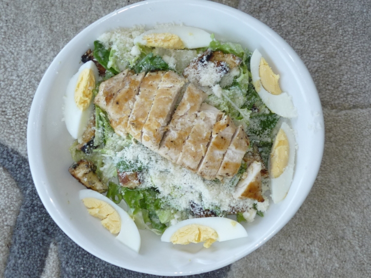 Caesar Salad on cookingtrips.wordpress.com