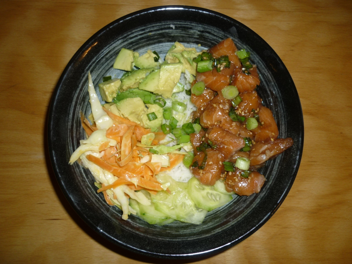 Poke Bowl, Hawaii, USA